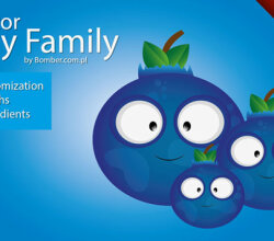 Berry Family Vector