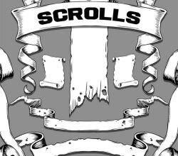 Vector Hand Drawn Scroll Graphics