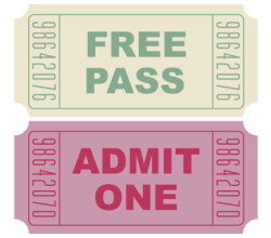 Free Movie Tickets Vector