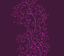 Vector Curls Pattern