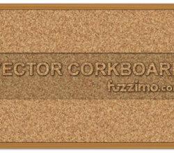 Vector Cork Board
