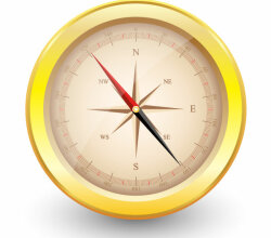 Vector Compass Illustrator