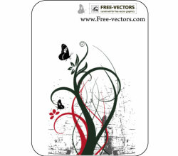 Free Ornaments Vector Background