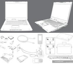 Vector Notebook Accessories