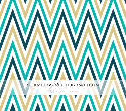 Colorful Zigzag Seamless Pattern
