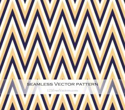 Retro Zigzag Pattern Background