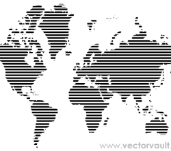 Free Vector Map of the World