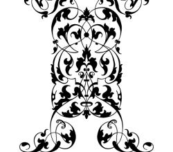 Vertical Ornament Vector