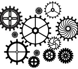 Vector Art Gears