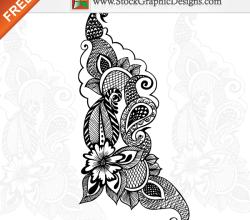 Free Vector Ornamental Floral Design