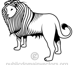Lion Vector Art Graphics