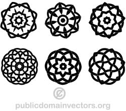 Vector Decorative Geometric Design Elements