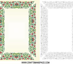 Vector Chinese Border Ornament Frame