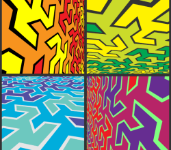 Abstract Pop Art Free Vector Background