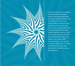 Background with Decorative Design Element