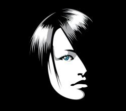 Beautiful Girl Face Graphics