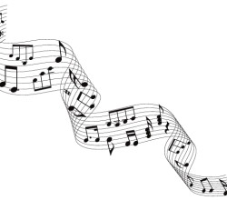 Free Musical Notes Vector