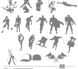 Vector Sports Heroes Image