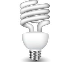 Vector Energy Saving Fluorescent Light Bulb