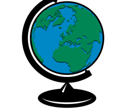 Vector Clip Art Earth Globe