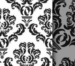 Free Damask Repeat Pattern