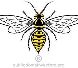 Vector Wasp Image