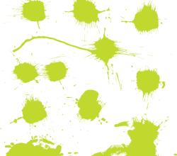 Free Color Splash Vector Art