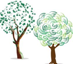 Green Tree Free Vector Art