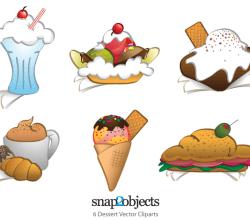 Free Dessert Clip Art Vector