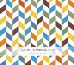 Colorful Chevron Background Vector
