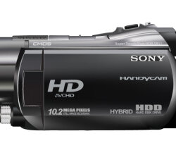 Sony Handycam HDR SR11 Vector Illustration