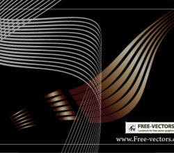 Flowing Curves Vector