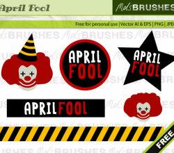 April Fools Day vector