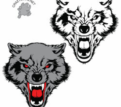 Free Wolf Vector