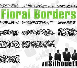 Floral Borders Vector
