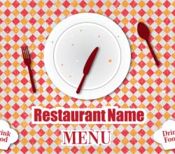 Retro Restaurant Menu Free Vector Design