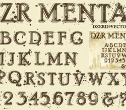 Fonts Vector