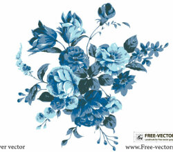 Free Vector Flowers Illustrator