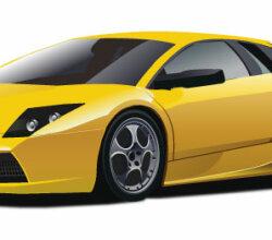 Lamborghini In Vector