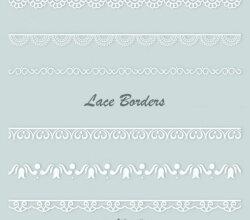 Vector Lace Border