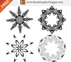 Decorative Free Vector Design Elements