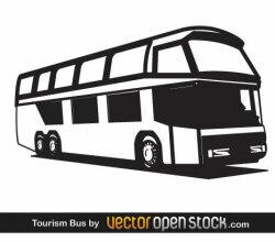 Vector Tourist Bus