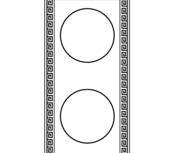 Greek Frame Free Vector