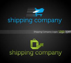 Shipping Company Logo Design Vector