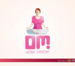 Yoga Logo Vector