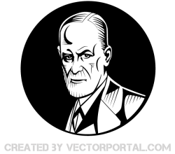 Sigmund Freud Vector Image