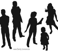 People Silhouette Illustrator