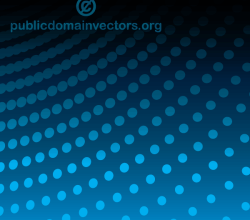 Abstract Blue Background Illustration with Halftone Dots Pattern