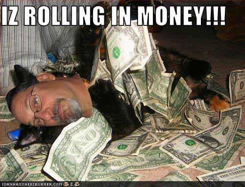 Iz Rillong in money cat