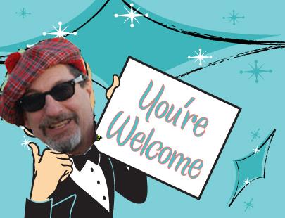 iz your welcome